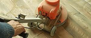 renovatie van een vloer